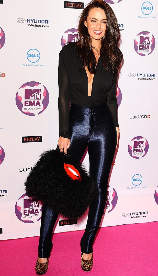 MTV Europe Music Awards 2011: Jennifer Metcalfe