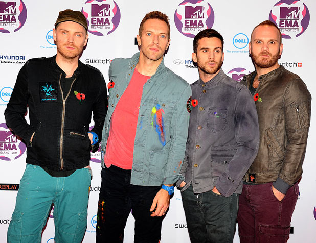 MTV Europe Music Awards 2011: Coldplay