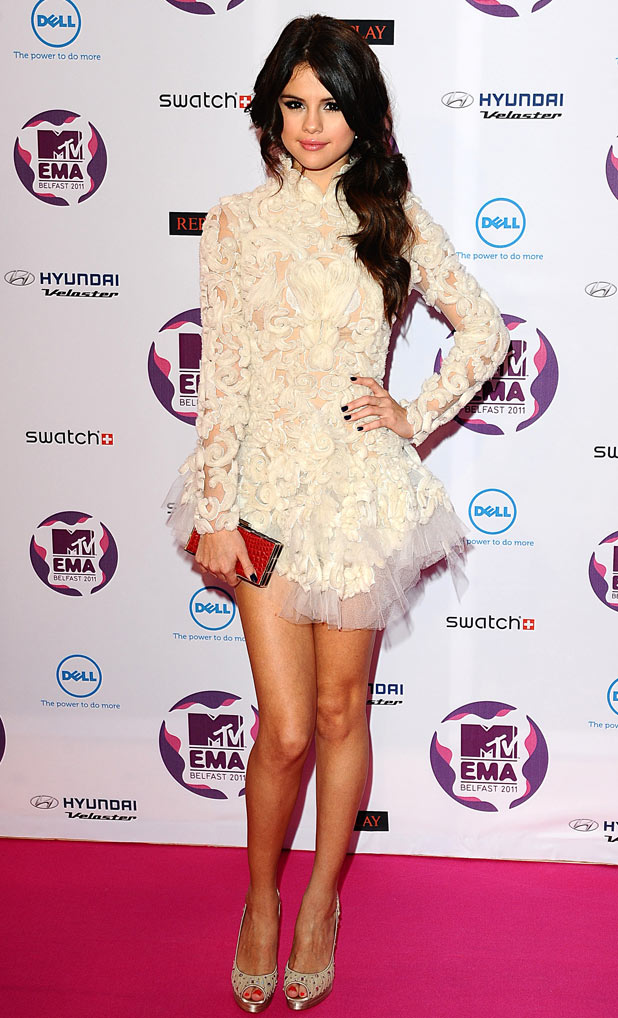 MTV Europe Music Awards 2011: Selena Gomez