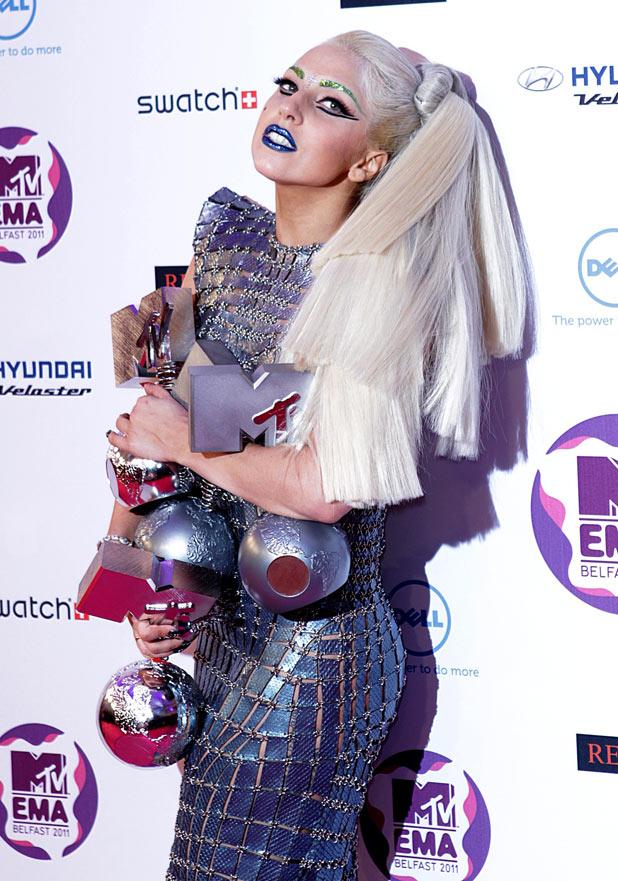 EMAs 2011: Lady Gaga