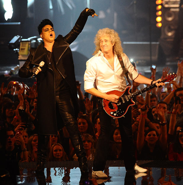 EMAs 2011: Adam Lambert and Brian May