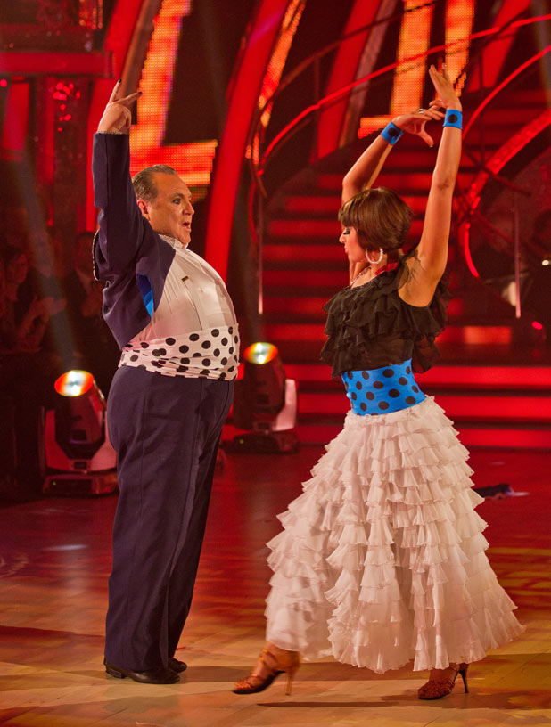 Strictly Come Dancing: Russell and Flavia