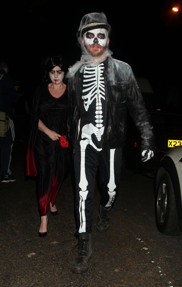 Celebrities celebrate Halloween gallery