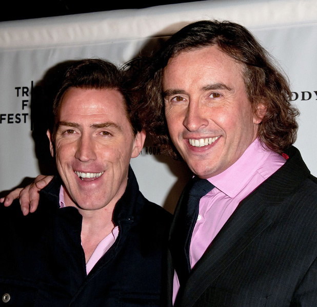 Rob Brydon and Steve Coogan