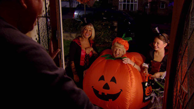 The TOWIE gang have a Halloween party