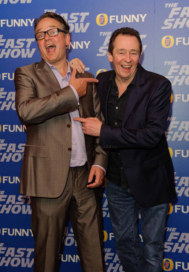 Paul Whitehouse and Charlie Higson
