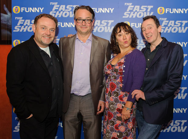 The reunited 'Fast Show' cast