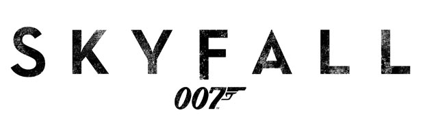 James Bond &#39;Skyfall&#39; logo