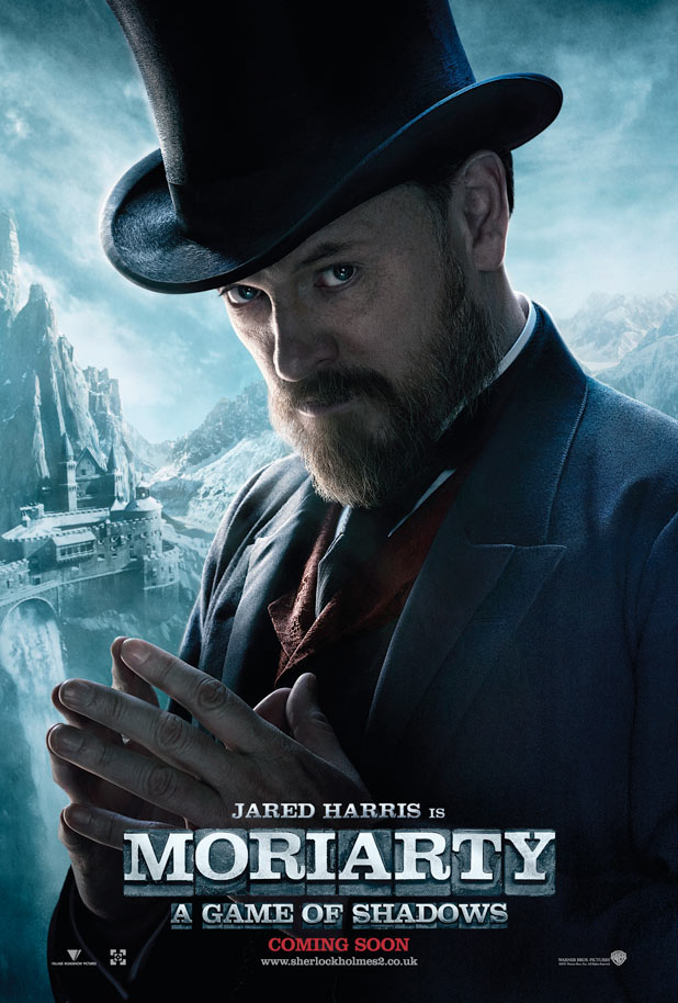 Jared Harris is Moriarty