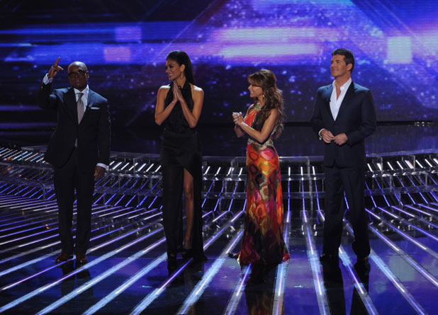 The X Factor Top 12 Results Show: The judges