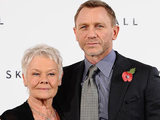 Daniel Craig and Judi Dench at the James Bond: Skyfall photocall