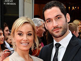 Tom Ellis and Tamzin Outhwaite