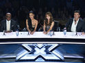 The first member of X Factor USA's Top 12 is sent home as America votes for the first time.
