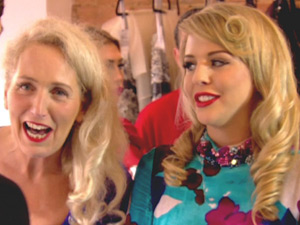 Debbie Bright and Lydia Bright