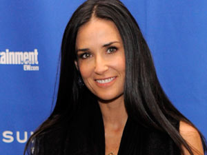 Demi Moore - The American actress celebrates her 49th birthday on Friday.  