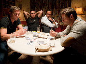The stakes are raised between Karl and Ciaran as they play poker
