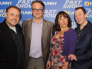 The reunited &#39;Fast Show&#39; cast