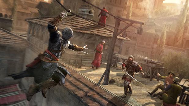 Assassin's Creed Revelations: Hook blade zipline