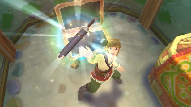 Legend of Zelda: Skyward Sword: Screenshot 2