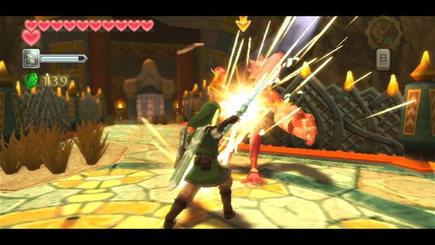 Legend of Zelda: Skyward Sword: Screenshot 3