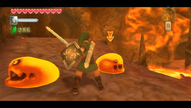 Legend of Zelda: Skyward Sword: Screenshot 4