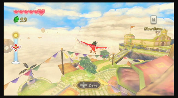 Legend of Zelda: Skyward Sword: Screenshot 5