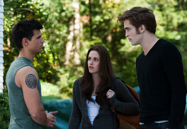 Kristen Stewart, Taylor Lautner and Robert Pattinson