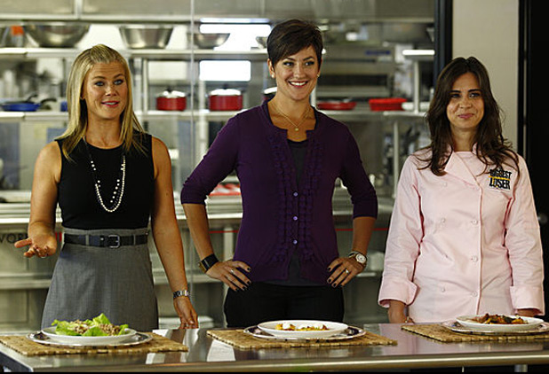 Biggest loser's Cooking lesson
