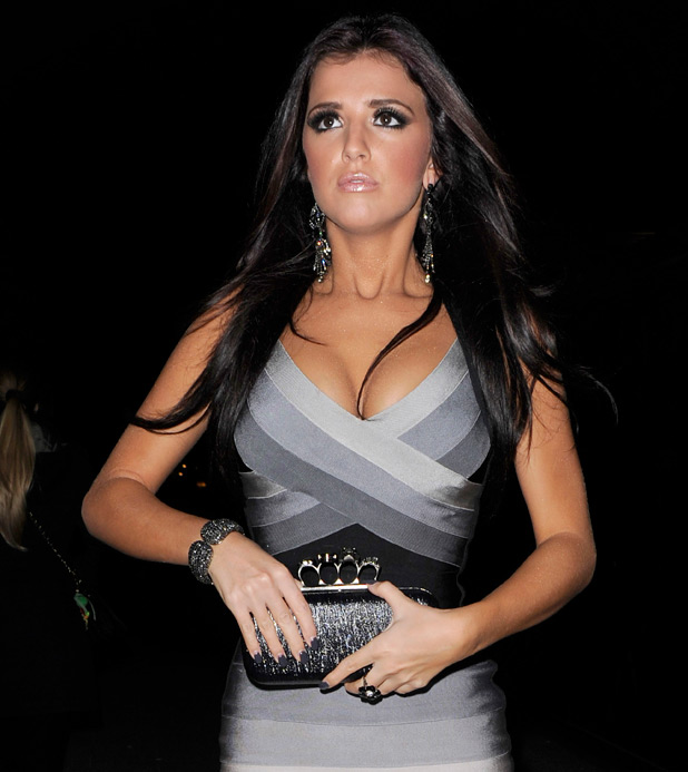 Previous Lucy Mecklenburgh heads to the afterparty at Aura nightclub