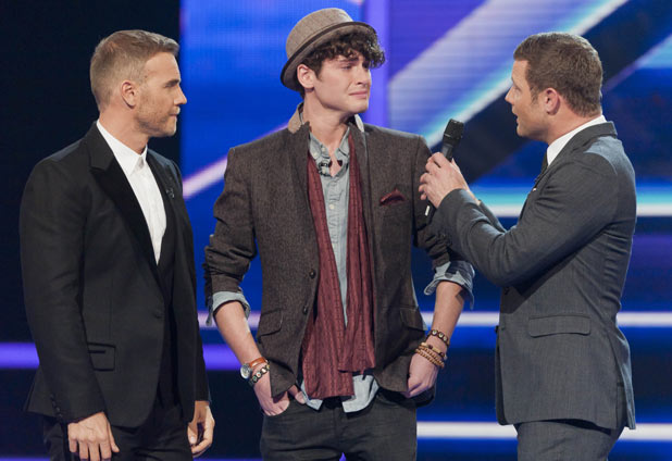 James loses his place on The X Factor