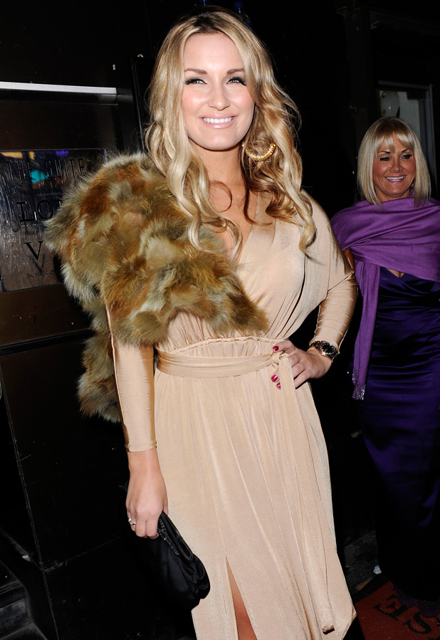 Sam Faiers and Carol Wright