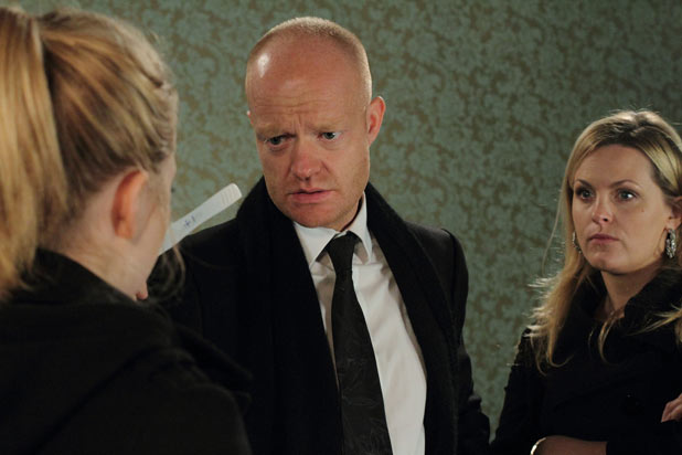 Max Branning (Jake Wood) is back
