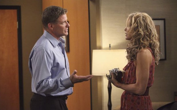 Lynette and Tom Scavo