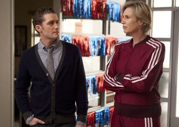 Will Schuester and Sue Sylvester