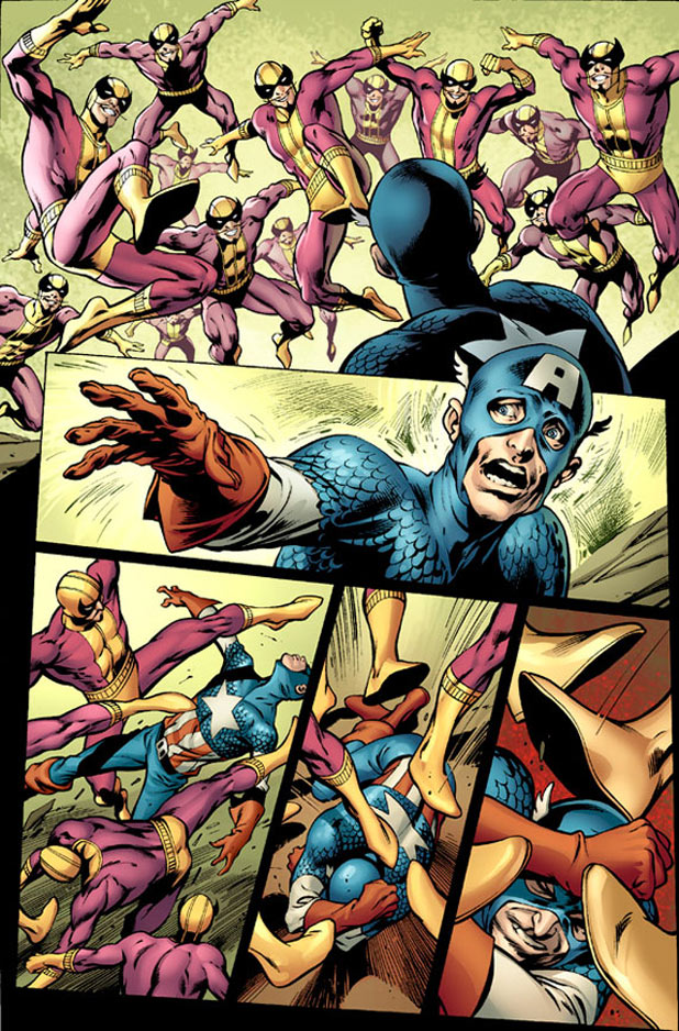 'Captain America' Alan Davis