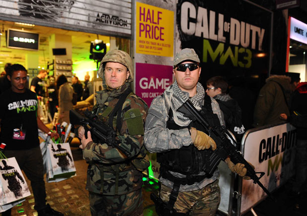 Call of Duty: Modern Warfare 3 midnight launch at GAME