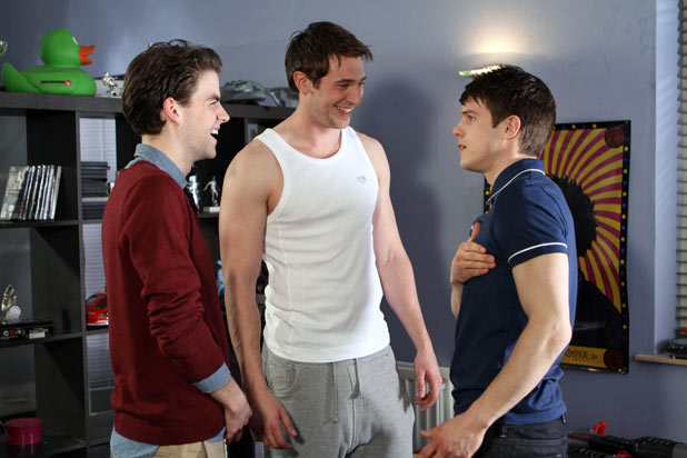 Ethan Scott (Craig Vye), Doug Carter (PJ Brennan), Riley Costello (Rob Norbury)