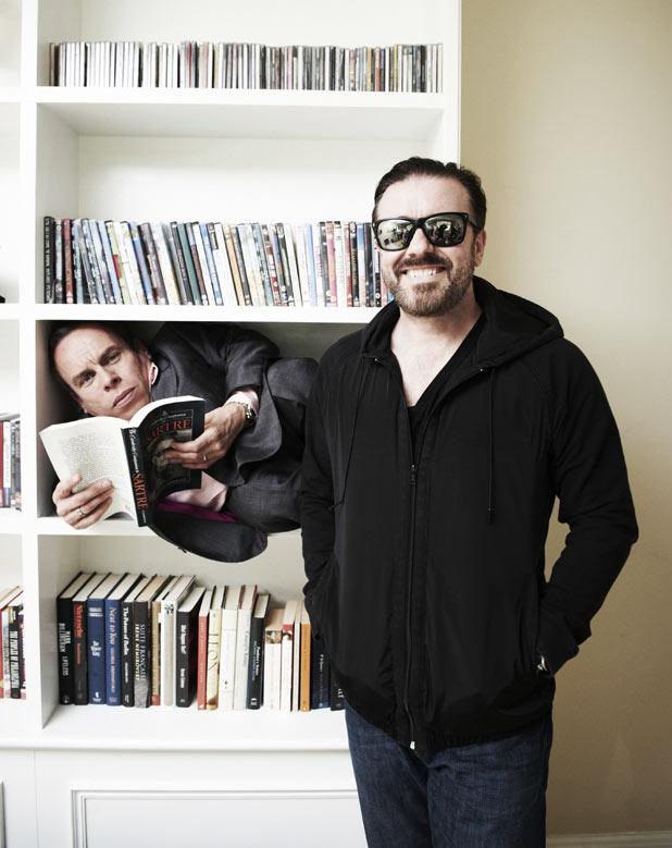 Warwick Davies, Ricky Gervais