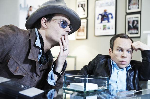 Johnny Depp, Warwick Davies