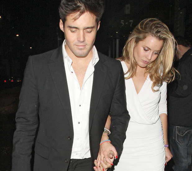 Caggie Dunlop and Spencer Matthews