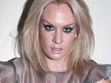 Kitty Brucknell backstage at The X Factor