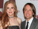 Nicole Kidman with her husband Keith Urban.