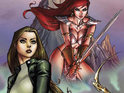 Top Cow and Dynamite unveil the Witchblade/Red Sonja crossover series.