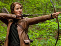 The Hunger Games trailer launches showing Jennifer Lawrence as Katniss Everdeen.