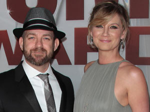 Sugarland, who scooped the award for 'Vocal Duo of the Year'.