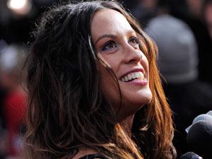 Singer Alanis Morissette