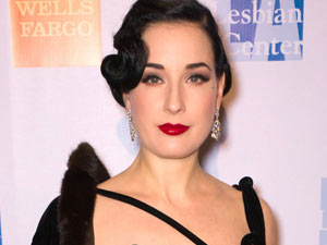 Dita Von Teese at the L.A. Gay and Lesbian Center's 40th Anniversary Gala and Auction