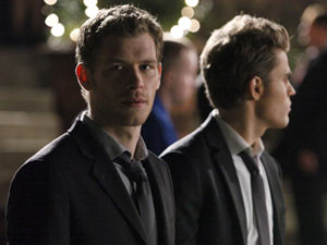 The Vampire Diaries S03E09: Klaus and Stefan