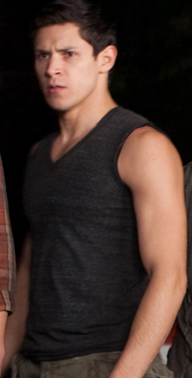 Alex Meraz in a Twilight still