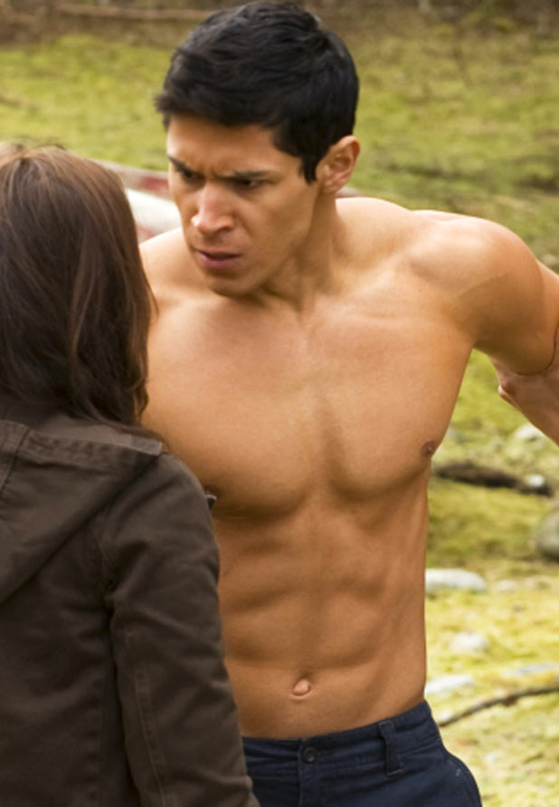 Alex Meraz looking fierce